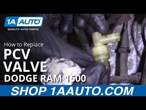 How to Replace PCV Valve 94-02 Dodge Ram 1500