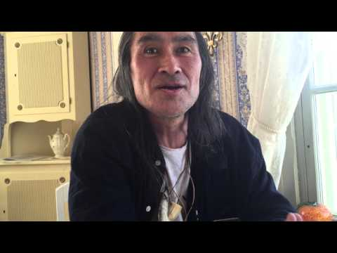 Hivshu  - Inuit from Greenland speaks about the importance to reconnect with nature