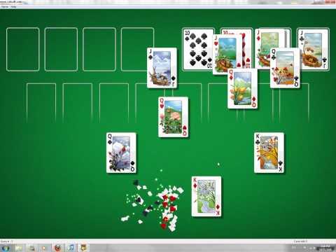 Windows 7 FreeCell Cheat (Always Win)