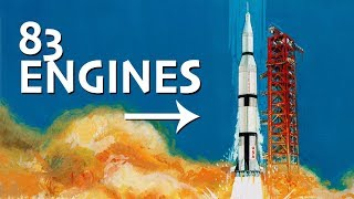 It Took 83 Engines to Get to the Moon