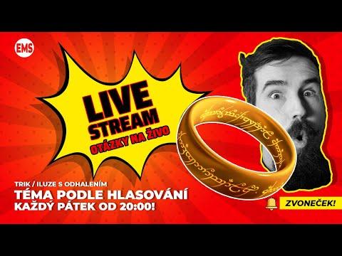 """Pán Prstenů """"Sloužím tajnému ohni"""" // Prof. Pavel Hošek // live stream"""