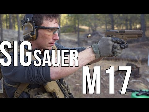 US Army's New Handgun The Sig Sauer M17