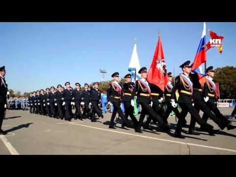 Спортивный парад московской полиции в честь Дня сотрудника органов внутренних дел