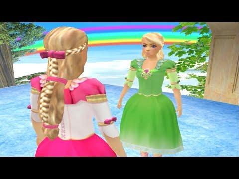 Игра Барби 12 Танцующих Принцесс #3   Прохождение игры Барби (Barbie In The 12 Dancing Princesses)