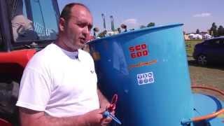 Rozsiewacz do nawozów organicznych SCO 600 GAMBERINI