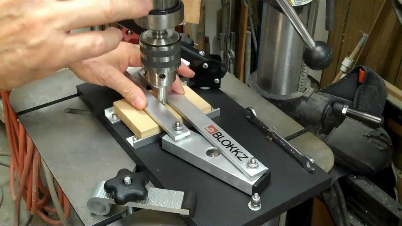 Blokkz' Woodworker's Drill Press Centering Jig www.blokkz ...