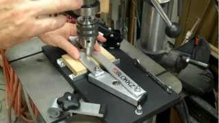 Blokkz' Woodworker's Drill Press Centering Jig Www.blokkz.com