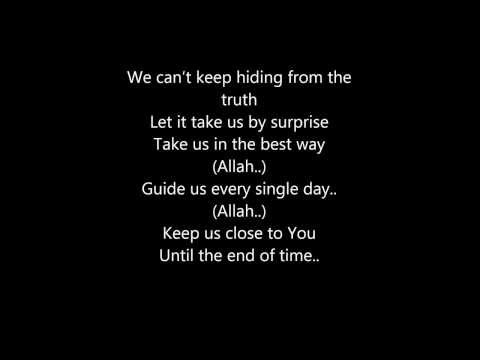 Maher Zain Open Your Eyes with lyrics