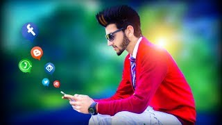 Picsart new editing | Picsart social networking manipulation | cb editing | alone boy manipulation