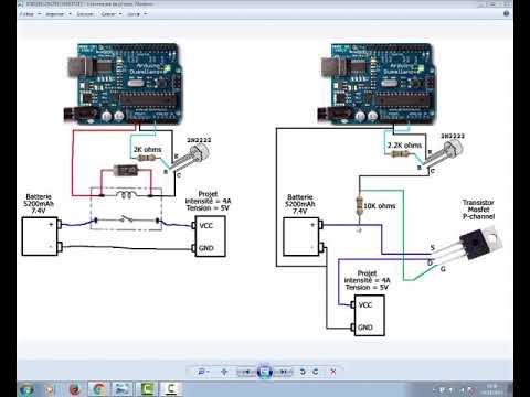 Branchement de transistor