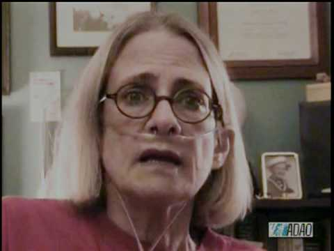 Mesothelioma patient June Breit's Last Message (2009)