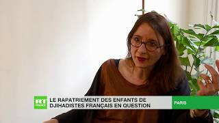 Le rapatriement des enfants de djihadistes français en question