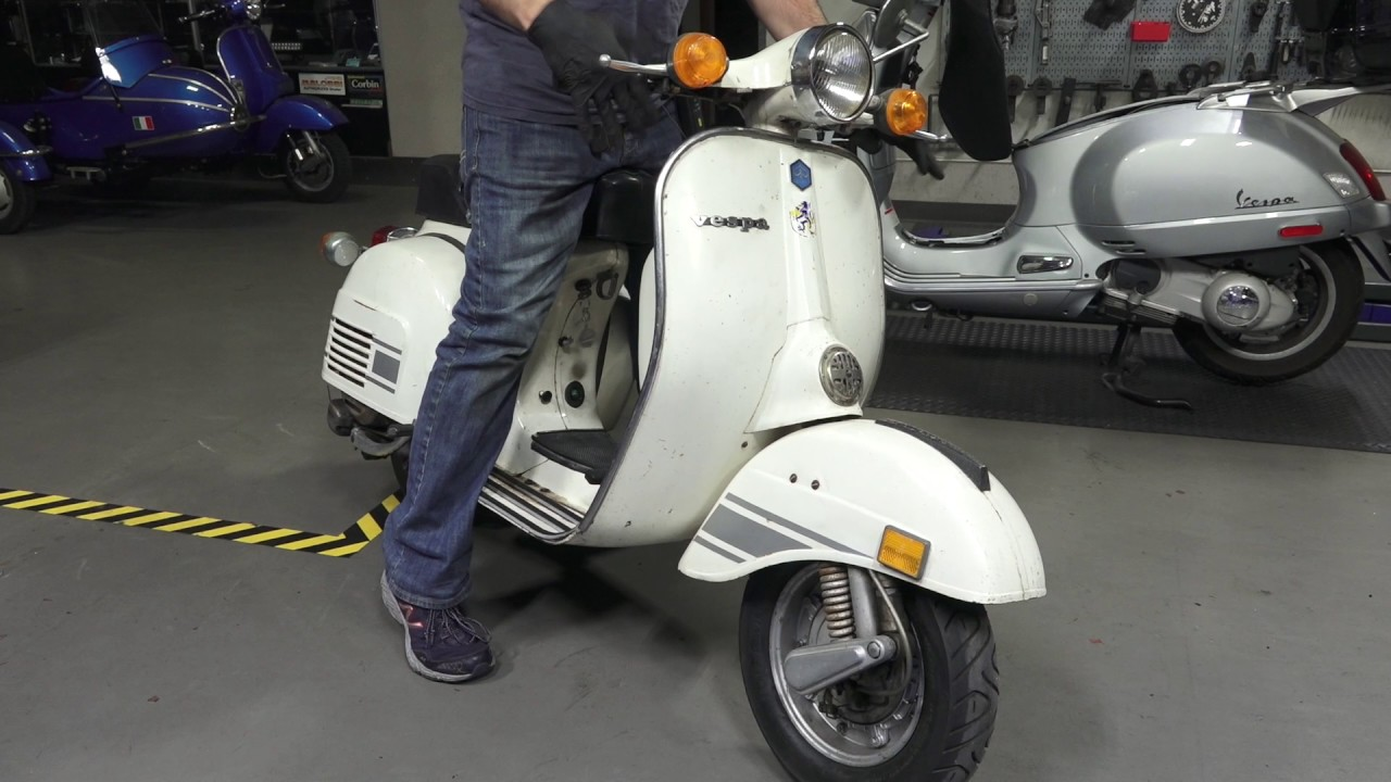 How to Start a Vintage Vespa