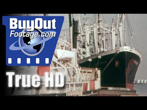 New Orleans Louisiana Port And Street Scenes 1970s Historic HD Footage