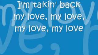 enrique iglesias feat ciara takin back my love with lyrics
