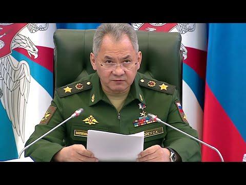 Министр обороны Сергей Шойгу: Коронавирус не повлияет на сроки весеннего призыва в армию.