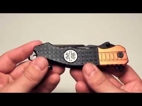EMT EMS Rescue Knife Review (TAC Force)