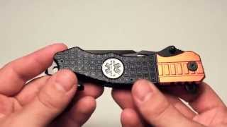 EMT EMS Rescue Knife Review (TAC Force)