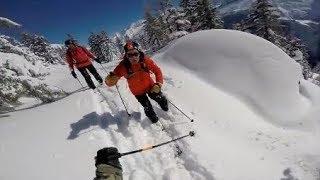 Quand les Skieurs se clashent