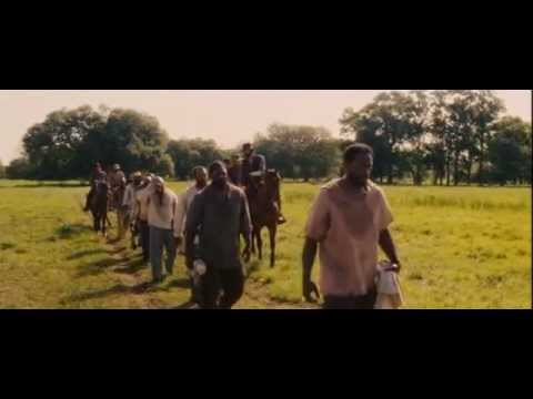Django Unchained - Scene in the middle of traveling to Candyland (rap song)