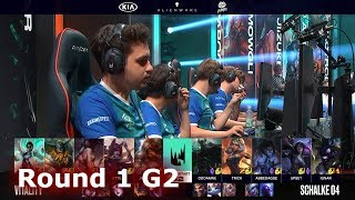Schalke 04 vs Vitality - Game 2 | Round 1 S9 LEC Summer 2019 Playoffs | S04 vs VIT G2