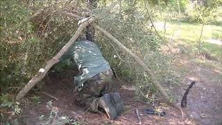 woodsmans shelter pt 2