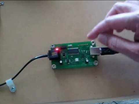 NCE USB interface for the first time with JMRI software