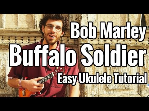 Bob Marley Buffalo Soldier Ukulele Tutorial Easy