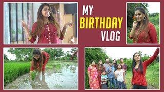 My Birthday Vlog 2019 | Naveena Vlogs | Birthday Celebrations at My Village