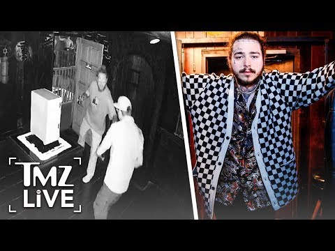 Post Malone: Creepy Haunted Video | TMZ Live