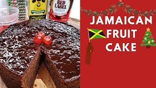 Jamaican Fruit cake | Chriṡtmas Cake| How to make Fruit cake