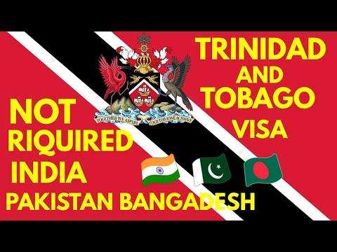 Trinidad And Tobago Visa Not Required Indians Pakistani Bangladeshi Trinidad And Tobago Immigration.