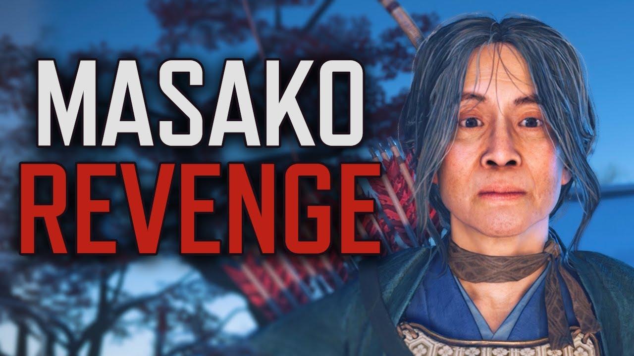 Ghost of Tsushima - Lady Masako's Quest For REVENGE // Full Story + Complete Tale
