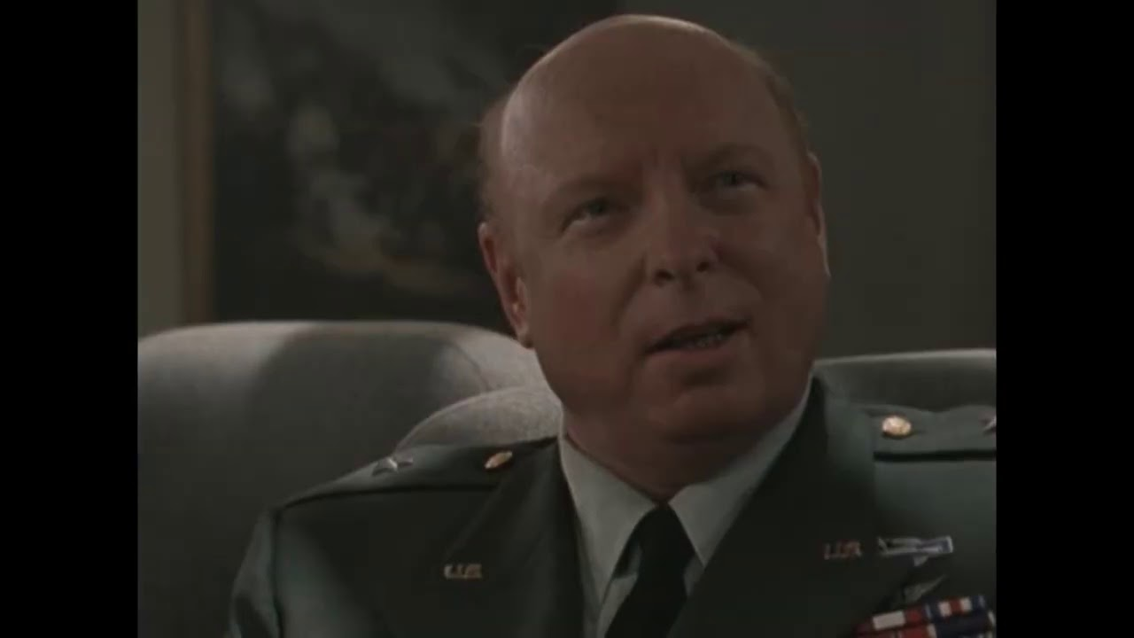 """Download General Hammond in """"The Outer Limits"""" Being Briefed About Aliens"""
