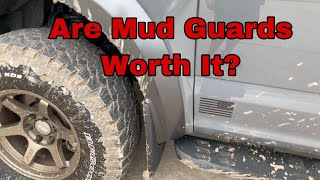Do mud flaps even work? (Ford f150/Raptor)