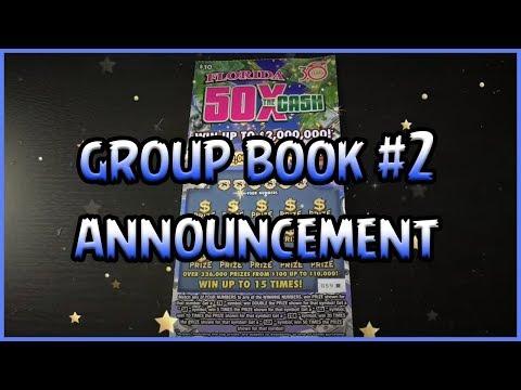 GROUP BOOK #2 ANNOUNCEMENT! (1) $10 50x the Cash - Florida Lottery Scratchers