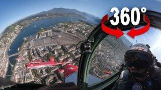 PC-7 TEAM über Luzern | 360°-Video aus Cockpit | Blick VR