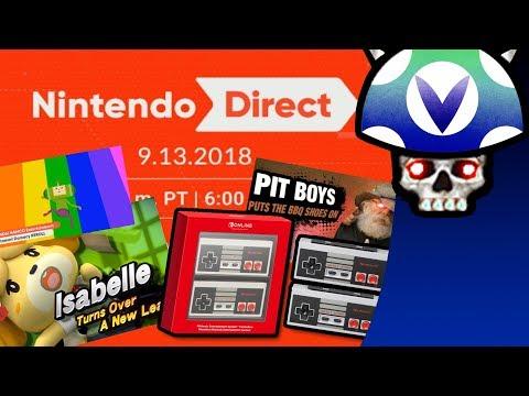 [Vinesauce] Joel - Nintendo Direct 9.13.2018 Reaction & Commentary