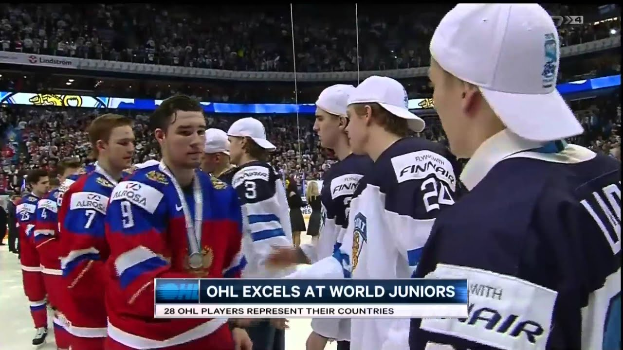 OHL Players excel at World Juniors