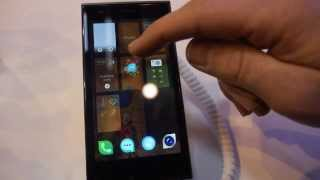Jolla Phone on Sailfish OS, the Meego successor