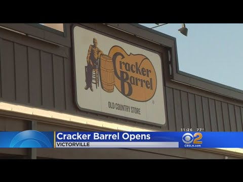 First Cracker Barrel In California Opens In Victorville