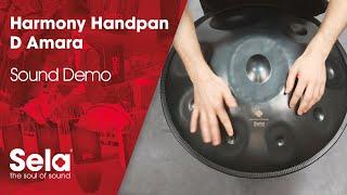 Sela SE 205 Harmony Handpan D Amara Steel