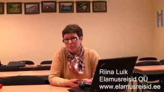 Mida arvas Riina Luik kodulehe tegemise koolitusest(Vaata, mida Riina Luik arvas internetiturunduse ja kodulehe tegemise koolitusest. Tutvu koolitusega siin: ..., 2015-07-06T09:39:54.000Z)