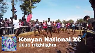 Kenyan National Cross Country Championships Highlights 2019