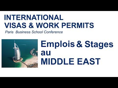 Emplois et stages au Middle East / Visas & Permis de travail