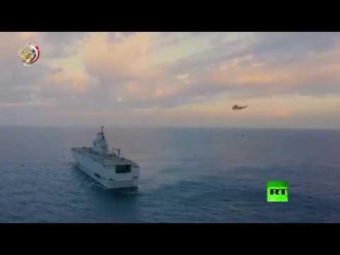 لحظة إطلاق الجيش المصري صواريخ من غواصات في البحر المتوسط  - نشر قبل 53 دقيقة