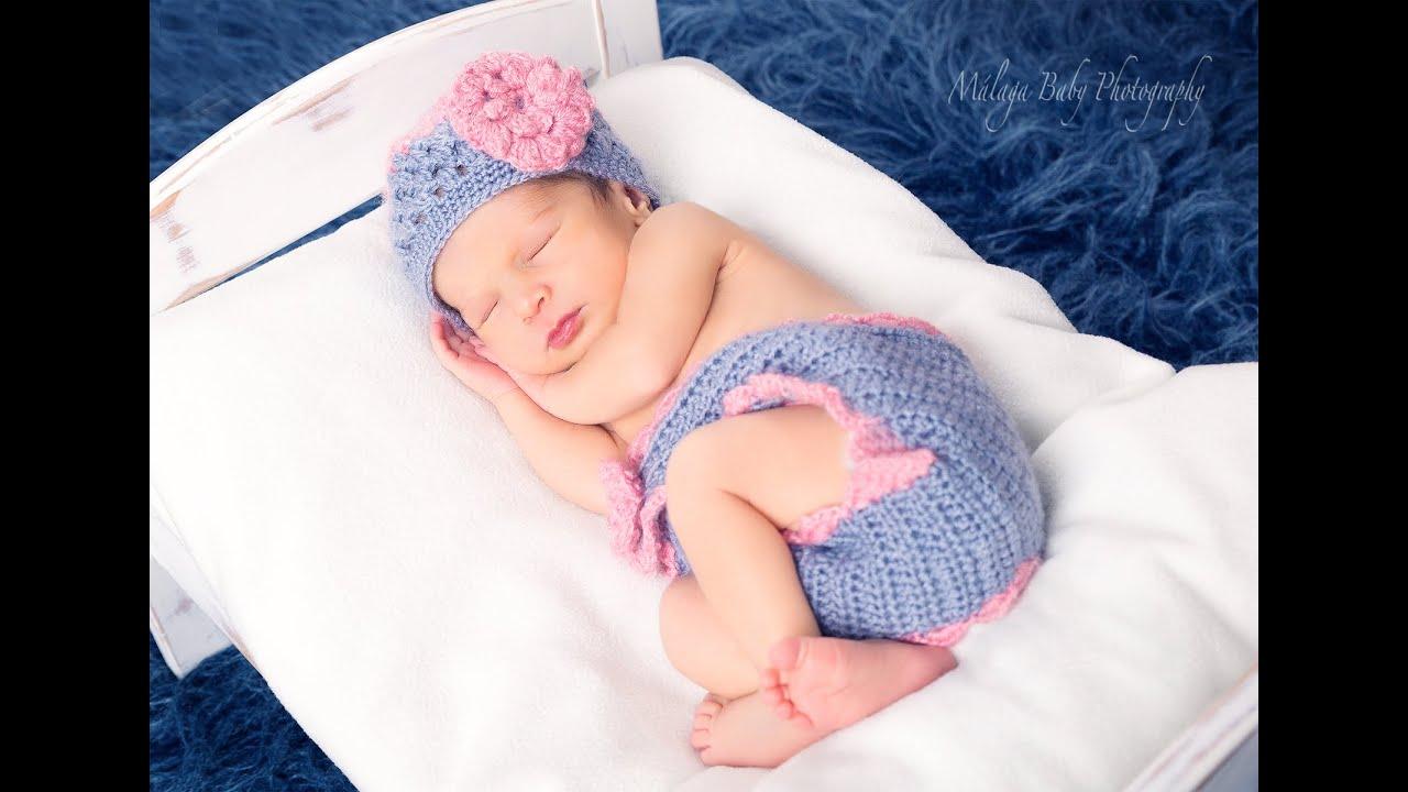 Retoque Photoshop en recién nacido de 10 días - YouTube