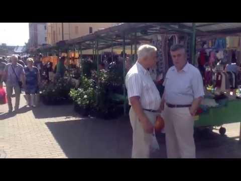 Riga central market, 10 aug. 2014