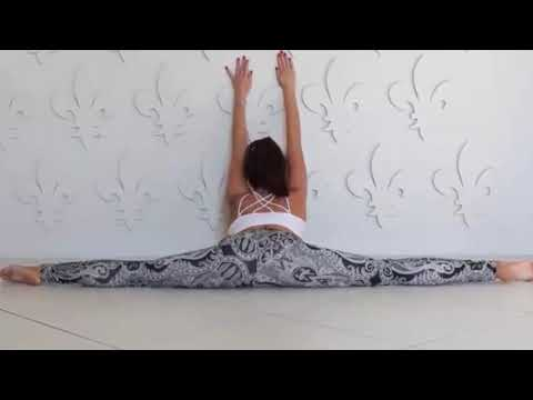 yoga  standing sequence stretches  balancing  flex girl