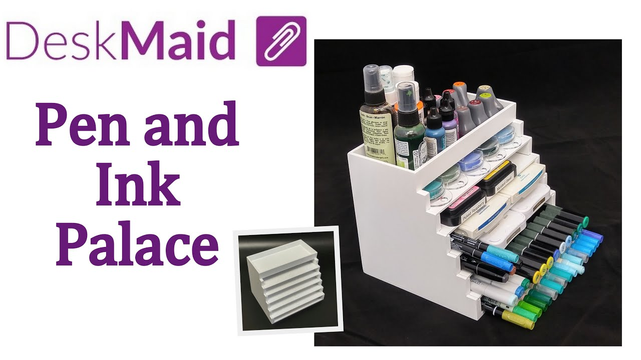 Desk Maid Pen And Ink Palace By Totally Tiffany